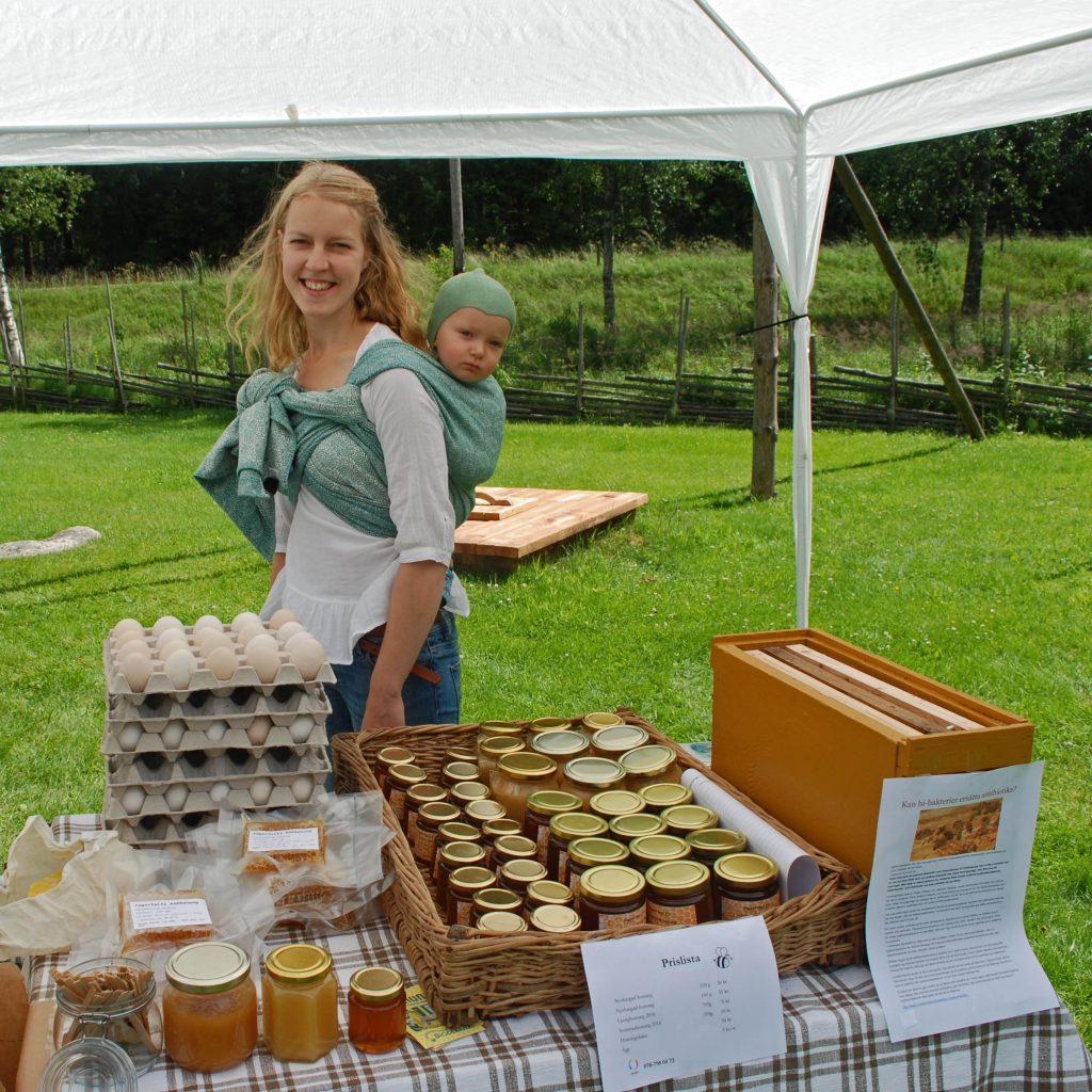 honungsförsäljning