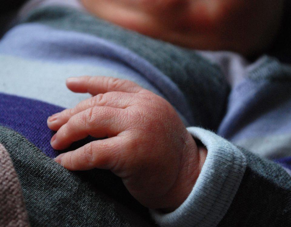 Livias hand