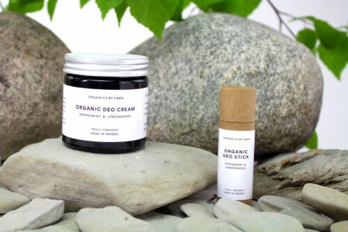 Organic Deo Cream Peppermint & Lemongrass
