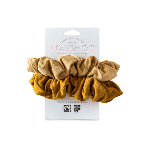 Gold Sand Scrunchie